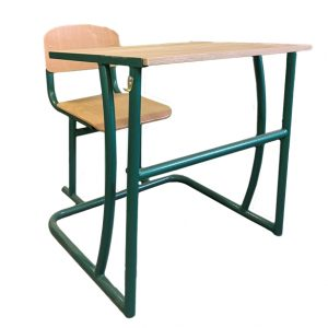 Two-seater pupil's desk, unregulated No. 3