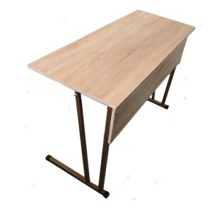 Two-seater pupil's desk, unregulated No. 5, No. 6, No. 7